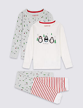 2 Pack Cotton Rich Pyjamas (9 Months - 8 Years)
