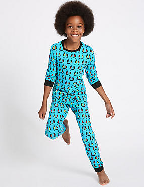 Cotton Pyjamas with Stretch (1-16 Years)
