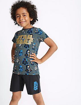 Pure Cotton Star Wars™ Short Pyjamas (5-16 Years)