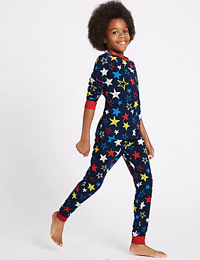 2 Piece Cotton Rich Printed Pyjamas (1-16 Years)