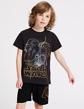 Star Wars™ Pure Cotton Pyjamas (5-16 Years)