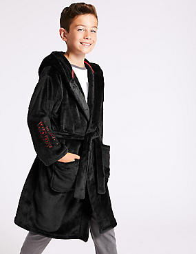Star Wars™ Hooded Dressing Gown (5-16 Years), BLACK MIX, catlanding