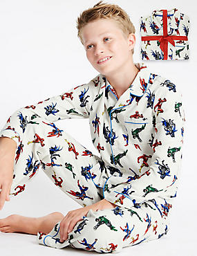 Pure Cotton DC Superheroes™ Pyjamas (1-16 Years)