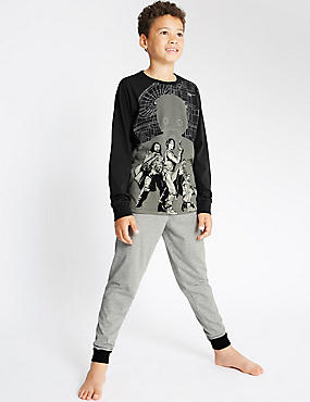 Long Sleeve Star Wars™ Pyjamas (4-16 Years)