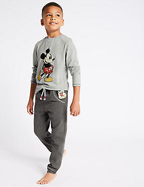 Mickey Mouse™ Pyjamas (1-16 Years), GREY MIX, catlanding