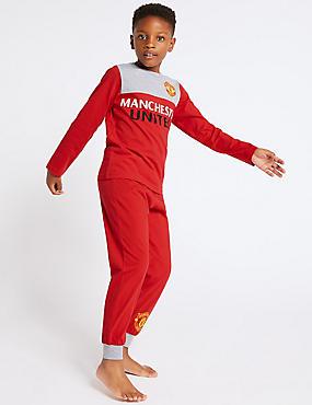 Manchester United™ Pyjamas (3-16 Years), RED MIX, catlanding