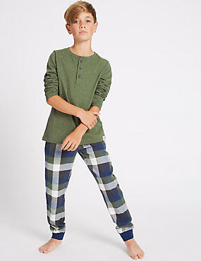 Long Sleeve Pyjamas (7-16 Years)