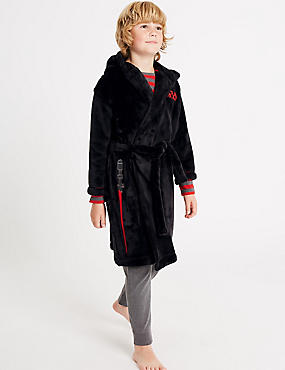 Star Wars™ Dressing Gown with Belt (5-16 Years), BLACK MIX, catlanding