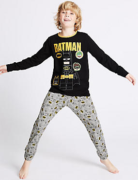 Batman™ Long Sleeve Pyjamas (3-14 Years)