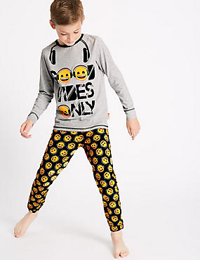 Emoji Print Pyjamas (7-16 Years)