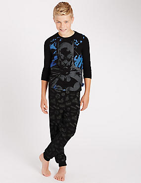 Cotton Rich Batman™ Pyjamas (6-16 Years)