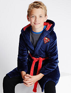 Superman™ Dressing Gown (3-14 Years)