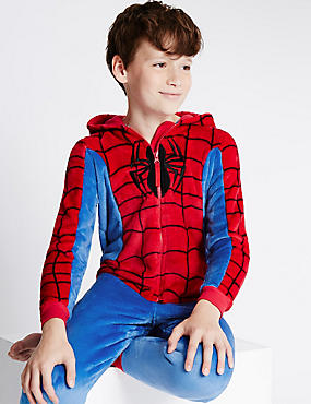 Spider-Man™ Long Sleeve Onesie (3-14 Years)