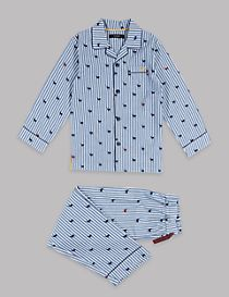 Pure Cotton Reindeer Pyjamas (1-16 Years)