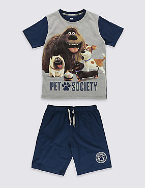 The Secret Life of Pets™ Short Pyjamas (4-14 Years)