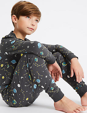 Printed Pyjamas with Stretch (3-16 Years)