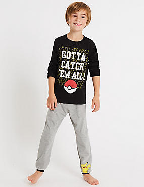 Pure Cotton Pokemon™ Pyjamas (5-14 Years)