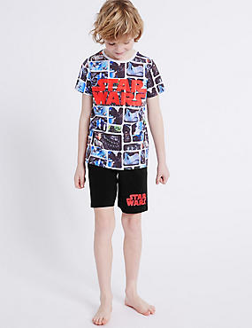 Cotton Rich Star Wars™ Short Pyjamas (4-16 Years)