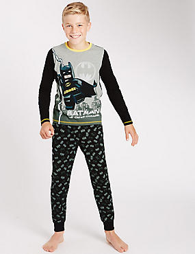 Lego® Batman Long Sleeve Pyjamas (4-14 Years)