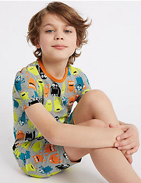 All Over Print Short Pyjamas (1-16 Years)