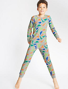 All Over Print Long Sleeve Pyjamas (1-16 Years)
