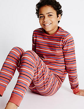 Skinny Fit Striped Pyjamas (1-16 Years)