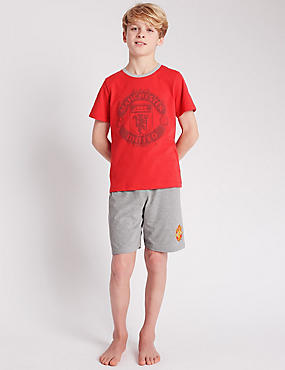Manchester United Football Club Short Pyjamas (3-16 Years)