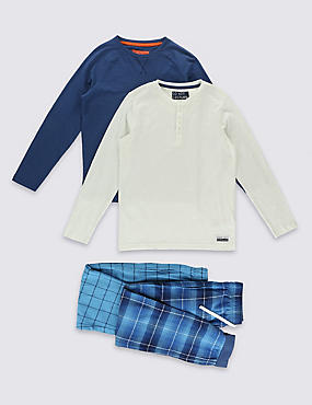 2 Pack Assorted Long Sleeve Pyjamas (1-16 Years)