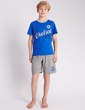Chelsea Football Club Short Pyjamas (3-16 Years)