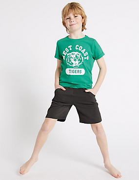 Short Sleeve Pyjamas (3-16 Years)