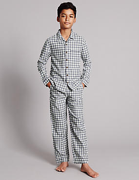 Gingham Checked Pyjamas (1-10 Years)
