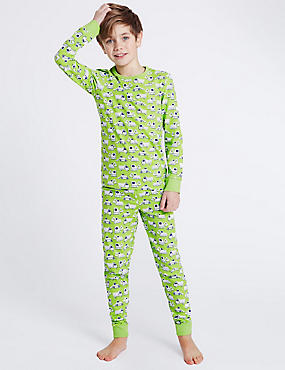 All Over Truck Print Pyjamas (1-16 Years)