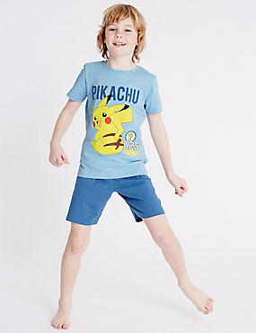 Pokemon Short Pyjamas (4-16 Years)