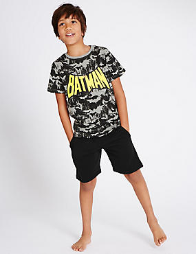 Batman™ Short Sleeve Pyjamas (1-16 Years)