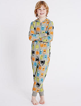 Pure Cotton Monster Onesie (1-16 Years)