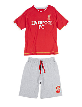 Liverpool Football Club Short Pyjamas Clothing