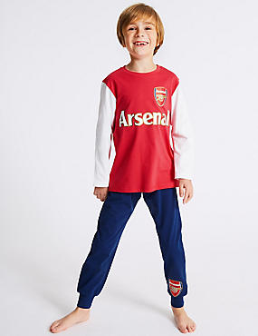 Arsenal FC™ Pure Cotton Pyjamas (3-16 Years)