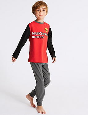 Manchester United™ Long Sleeve Pyjamas (3-16 Years)