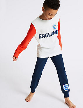 Pure Cotton England FA™ Pyjamas (3-16 Years)