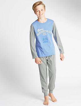 Man City Pyjamas (3-16 Years)