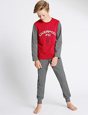 Pure Cotton Liverpool Pyjamas (1-16 Years)