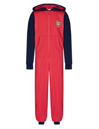 Pure Cotton Arsenal Football Club Onesie Clothing