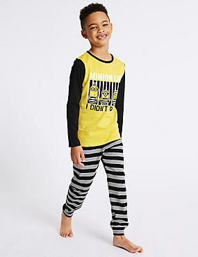 Pure Cotton Despicable Me™ Minions Pyjamas (3-14 Years)
