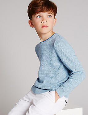 Pure Cotton Jumper (3-14 Years)