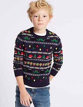 Long Sleeve Christmas Jumper (3-14 Years)
