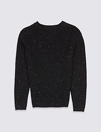 Long Sleeve Knitted Jumper (3-14 Years)