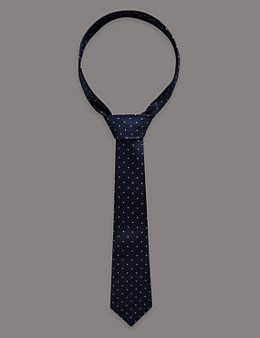 Standard Spotted Tie (5-14 Years)