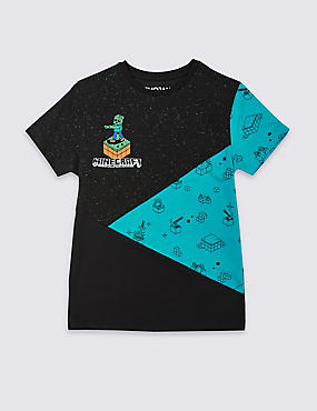 Minecraft™ T-Shirt (3-16 Years), MULTI, catlanding