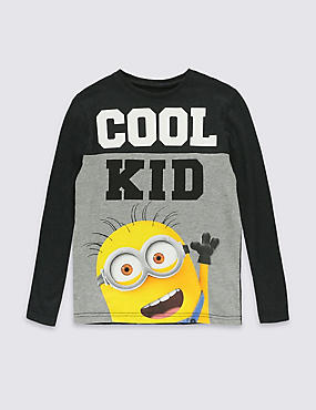 Pure Cotton Despicable Me™ Minion T-Shirt (3-8 Years)