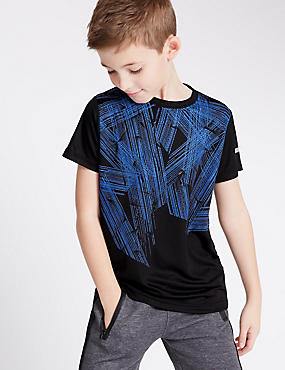 Strike Print T-Shirt (5-14 Years)